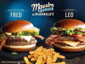 McDonald's Maestro Burgers - Estonia - Fred & Leo