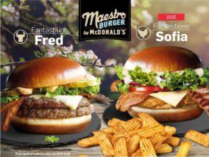 McDonald's Maestro Burgers - Estonia - Fred & Sofia