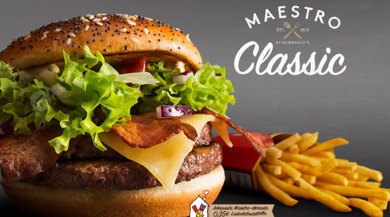McDonald's Maestro Burgers - Finland - Classic