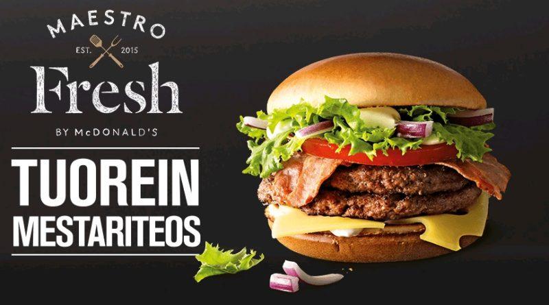 McDonald's Maestro Burgers - Finland - Fresh