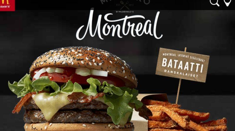 McDonald's Maestro Burgers - Finland - Montreal