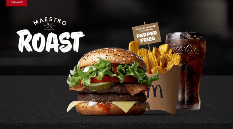 McDonald's Maestro Burgers - Finland - Roast