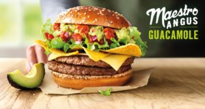 McDonald's Maestro Burgers - Holland - Angus Guacamole