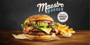 McDonald's Maestro Burgers - Holland - Angus