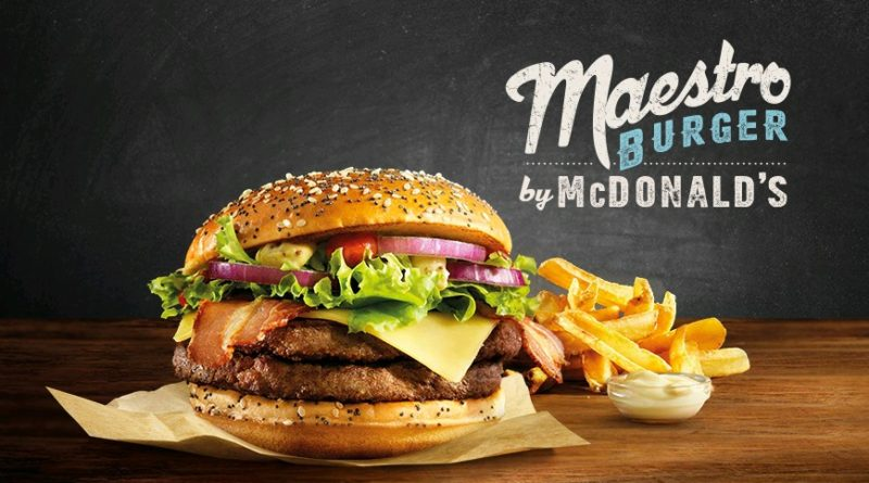 McDonald's Maestro Burgers - Holland - Maestro Burger - FEATURED
