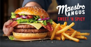 McDonald's Maestro Burgers - Holland - Sweet 'N Spicy