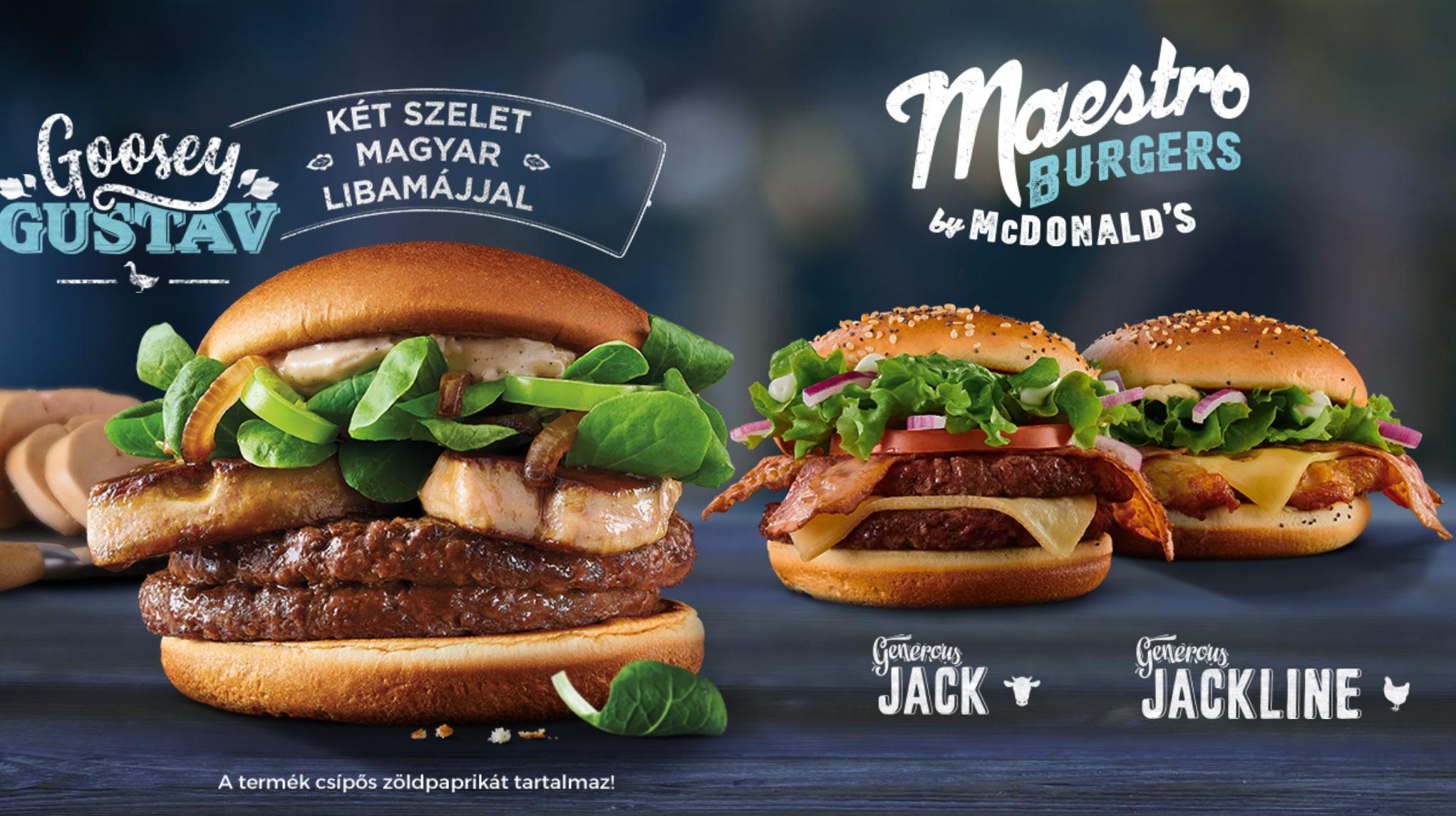 McDonald's Maestro Burgers - Hungary - Goosey Gustav