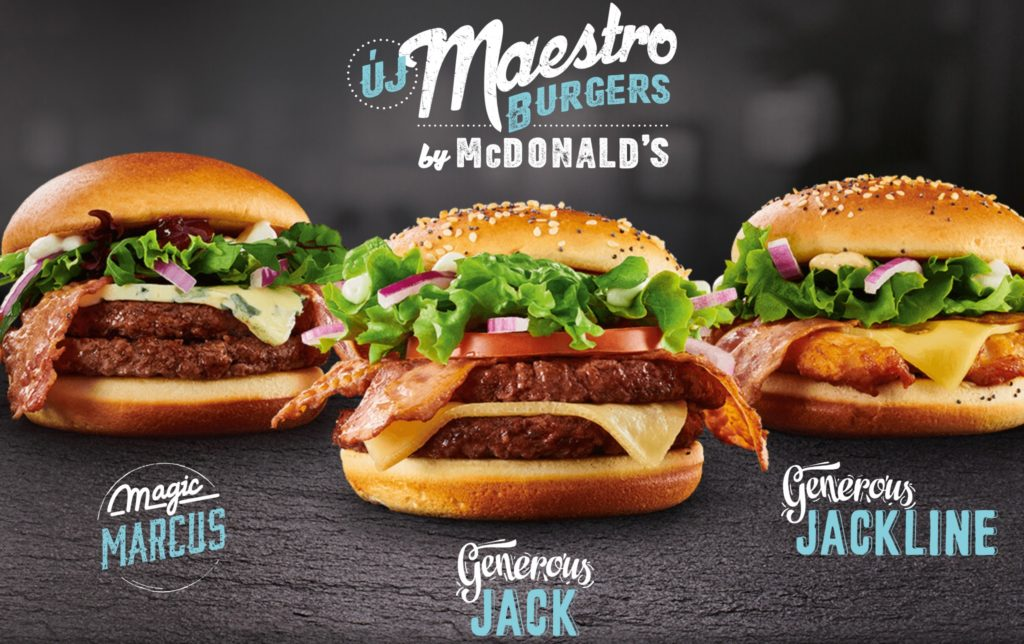 McDonald's Maestro Burgers - Hungary - Magic Marcus