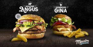 McDonald's Maestro Burgers - Malta - Amazing Angus & Generous Gina