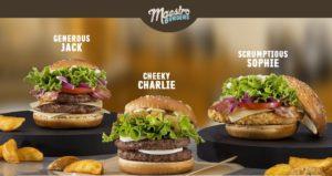McDonald's Maestro Burgers - Malta - Cheeky Charlie & Scrumptious Sophie