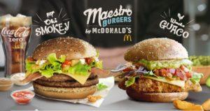 McDonald's Maestro Burgers - Malta - Oki Smokey