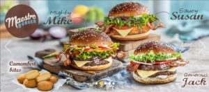McDonald's Maestro Burgers - Malta - Mighty Mike & Saucy Susan