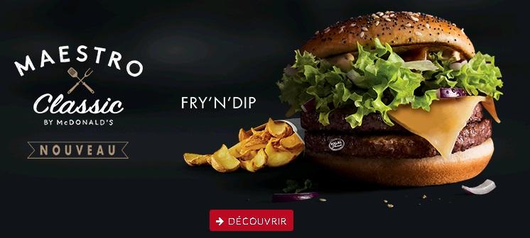 McDonald's Maestro Burgers - Morocco - Classic