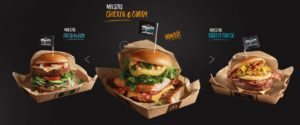 McDonald's Maestro Burgers - Poland - Chicken & Curry