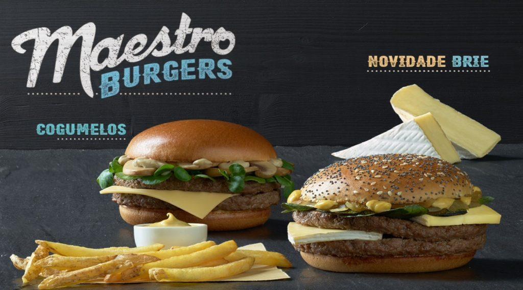 McDonald's Maestro Burgers - Portugal - Brie