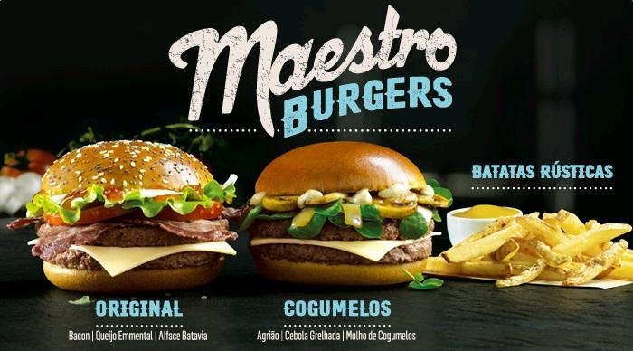 McDonald's Maestro Burgers - Portugal - Original