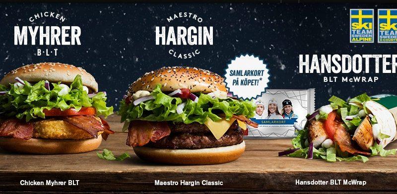 McDonald's Maestro Burgers - Sweden - Hargin