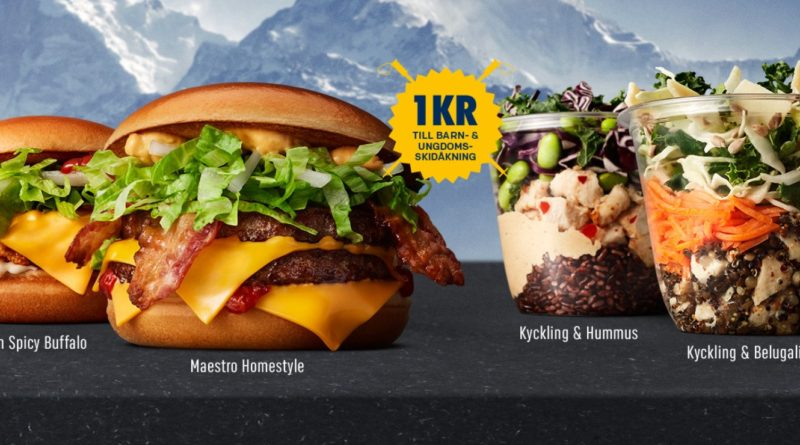 McDonald's Maestro Burgers - Sweden - Homestyle