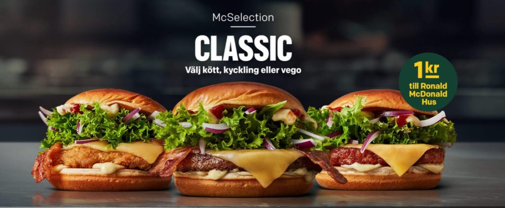 McDonald's Sweden McSelection Classic
