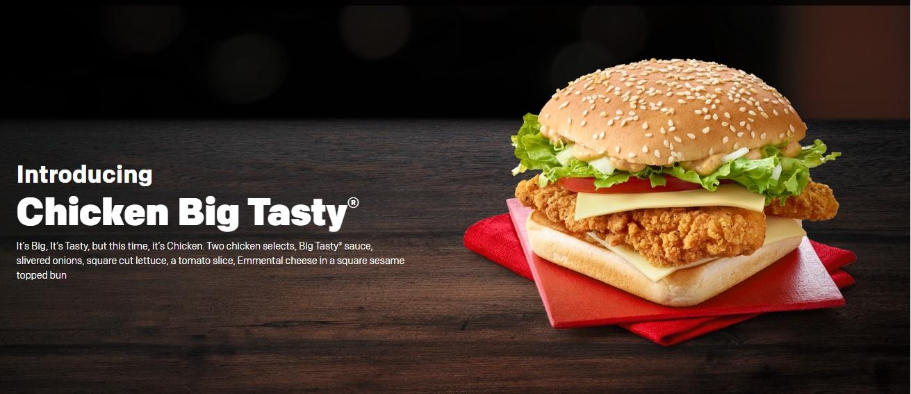 Chicken Big Tasty