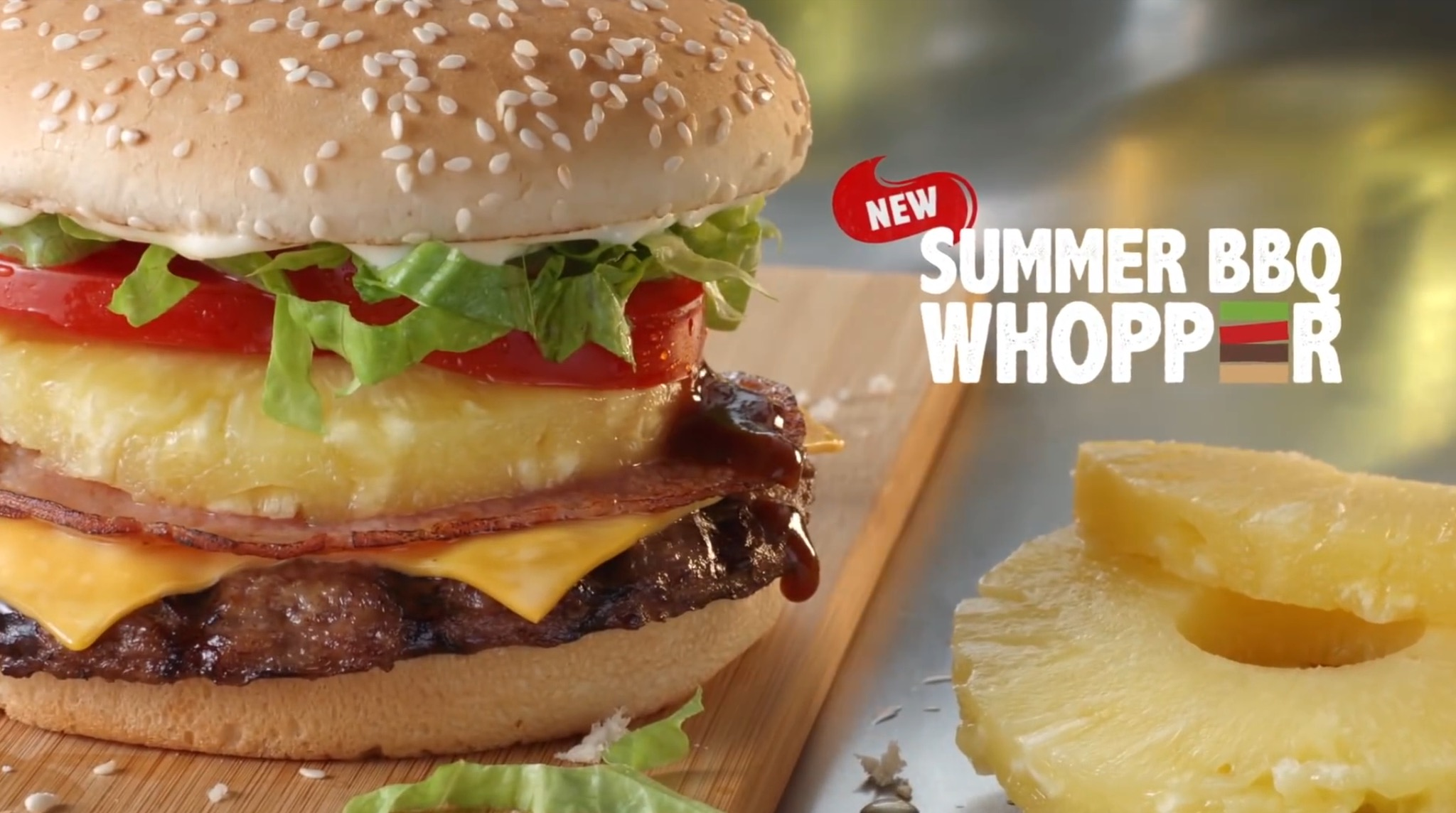 Hungry Jack's Summer BBQ Whopper