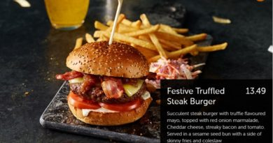 Beefeater Festive Truffled Steak Burger