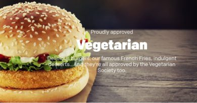 McDonald's Veggie Deluxe