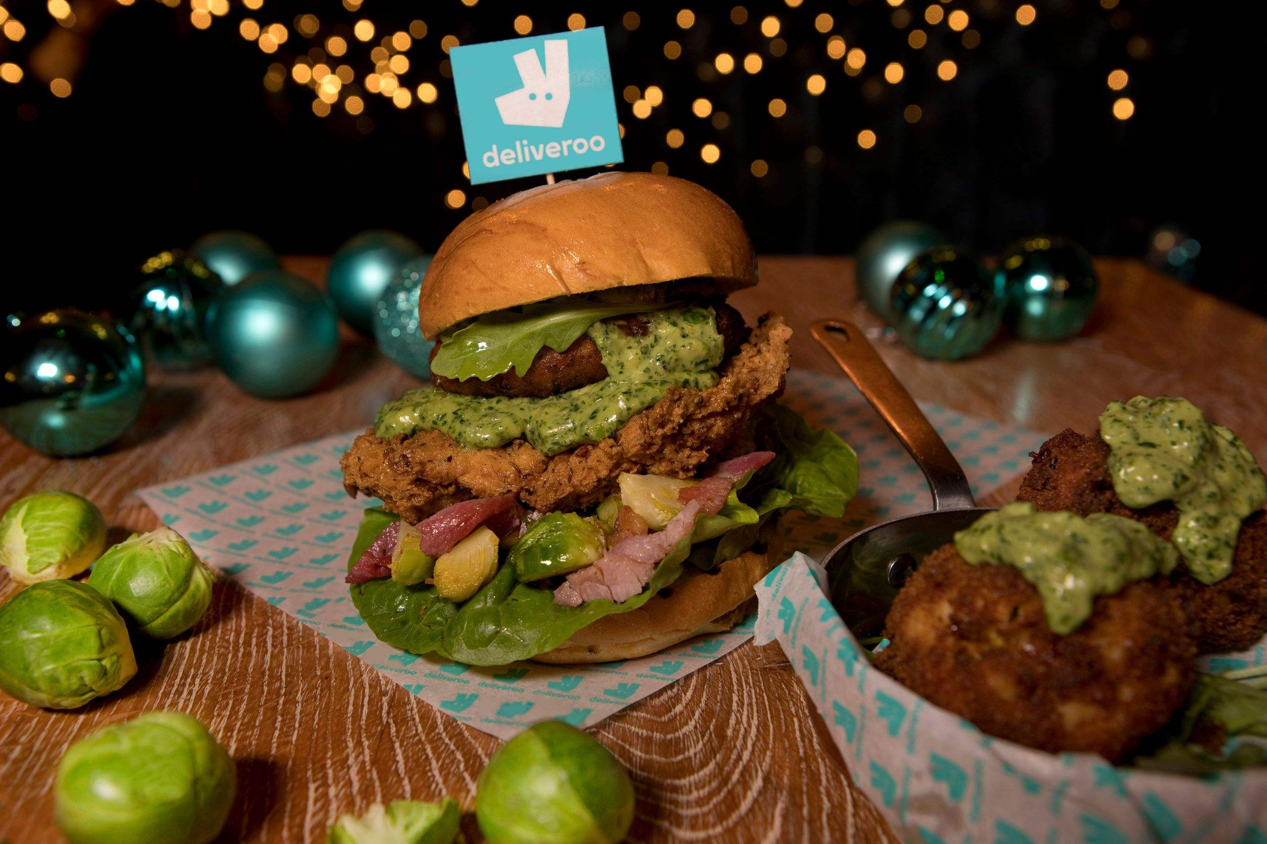 Sproutmas Burger - Absurd Bird