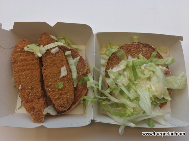McDonald's Vegetable Deluxe New 2019