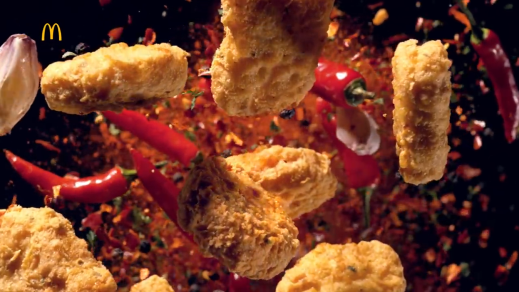 McDonald's Taiwan – Spicy Chicken McNuggets