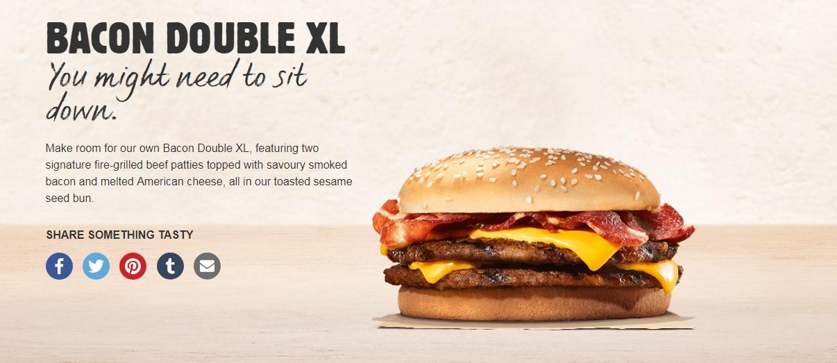 Bacon Double XL