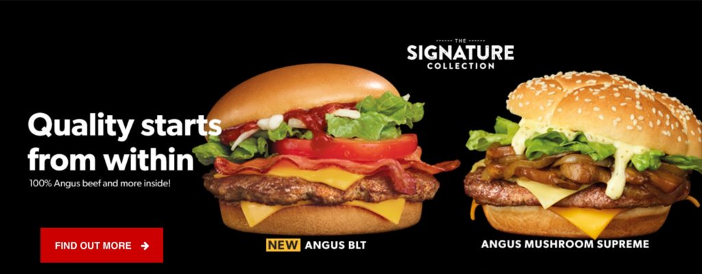 Signature Angus BLT - McDonald's Singapore