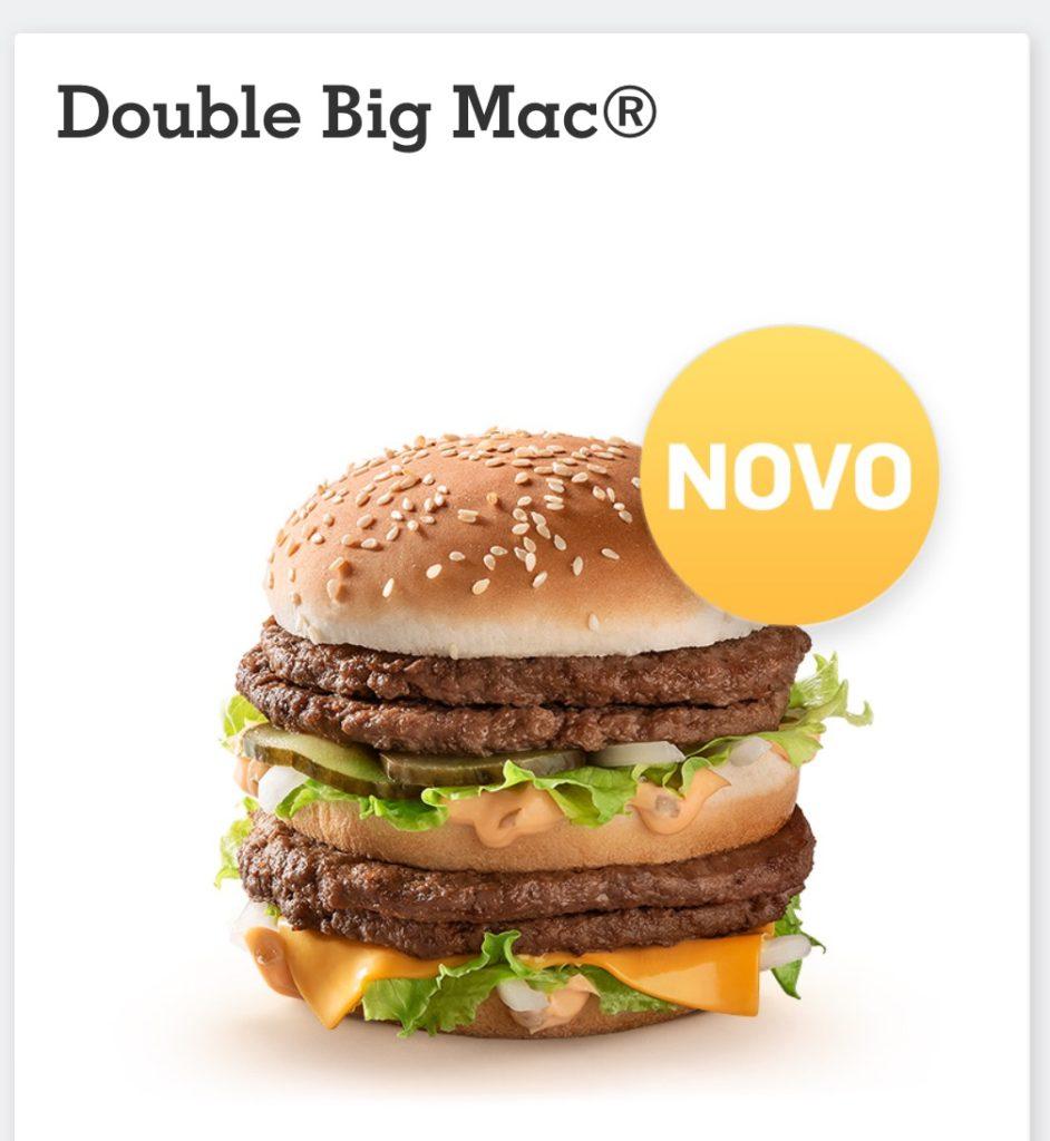 Double Big Mac - McDonald's Portugal