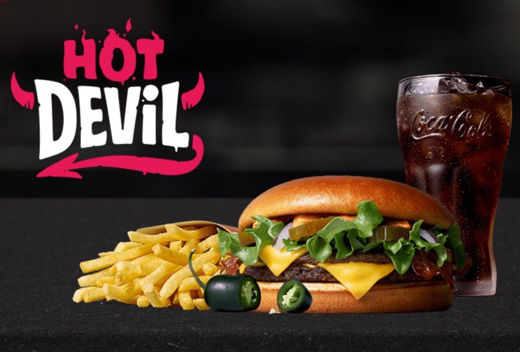 Hot Devil - McDonald's Finland