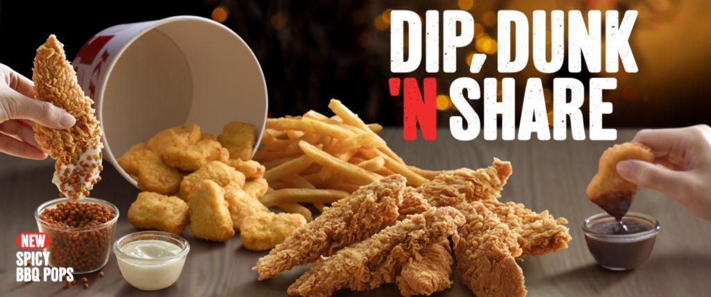 Dip, Dunk n Share - KFC