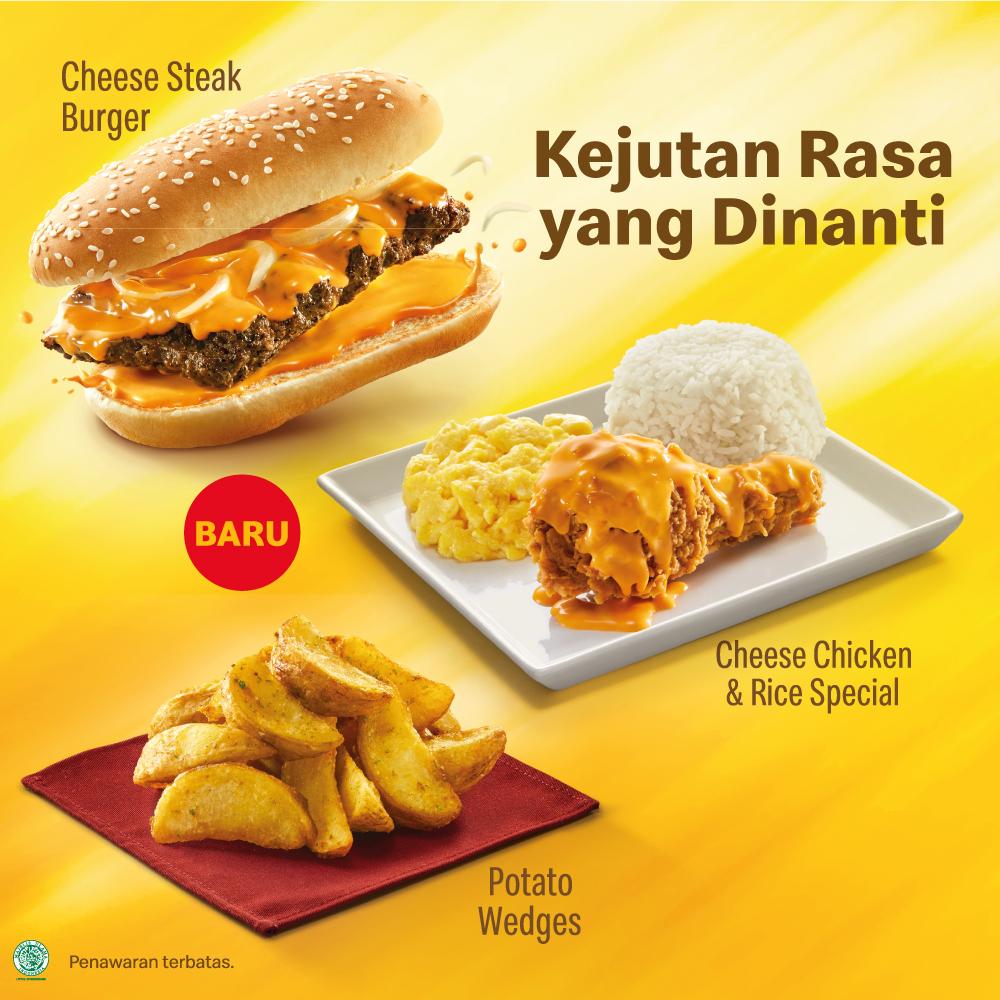 Cheese Steak Burger - McDonald's