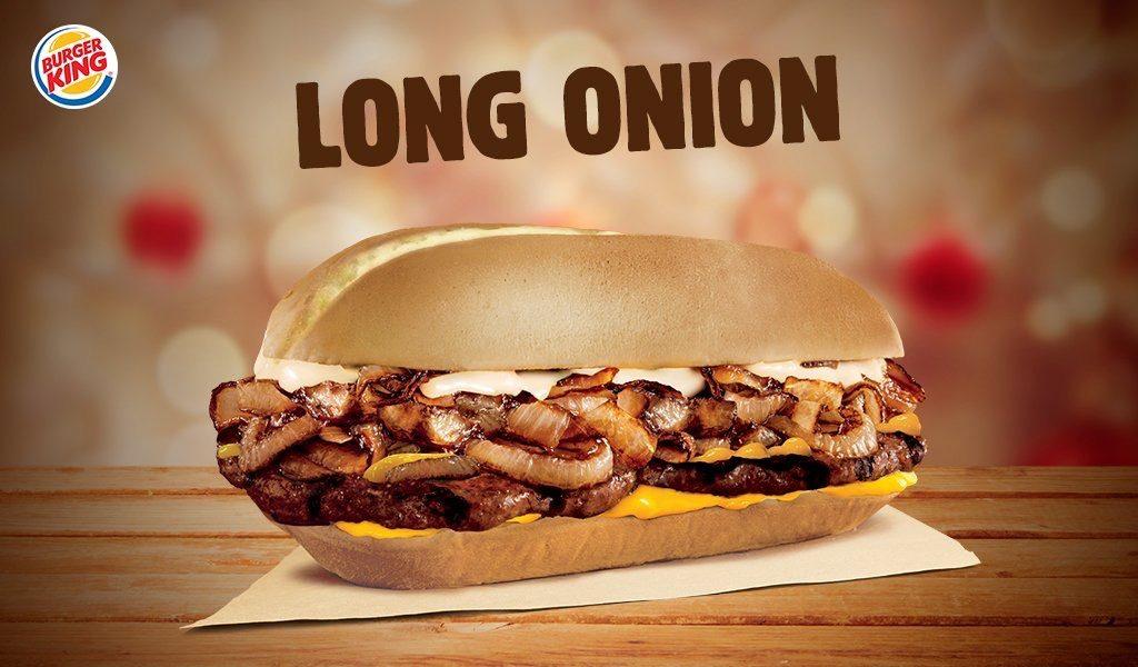 Burger King Long Onion