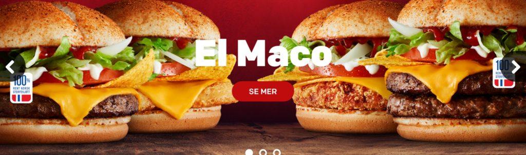 McDonald's Norway – El Maco