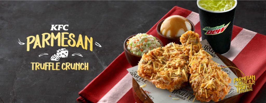 KFC Malaysia – Parmesan Truffle Crunch