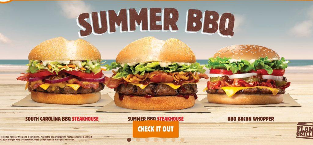 Burger King Summer BBQ