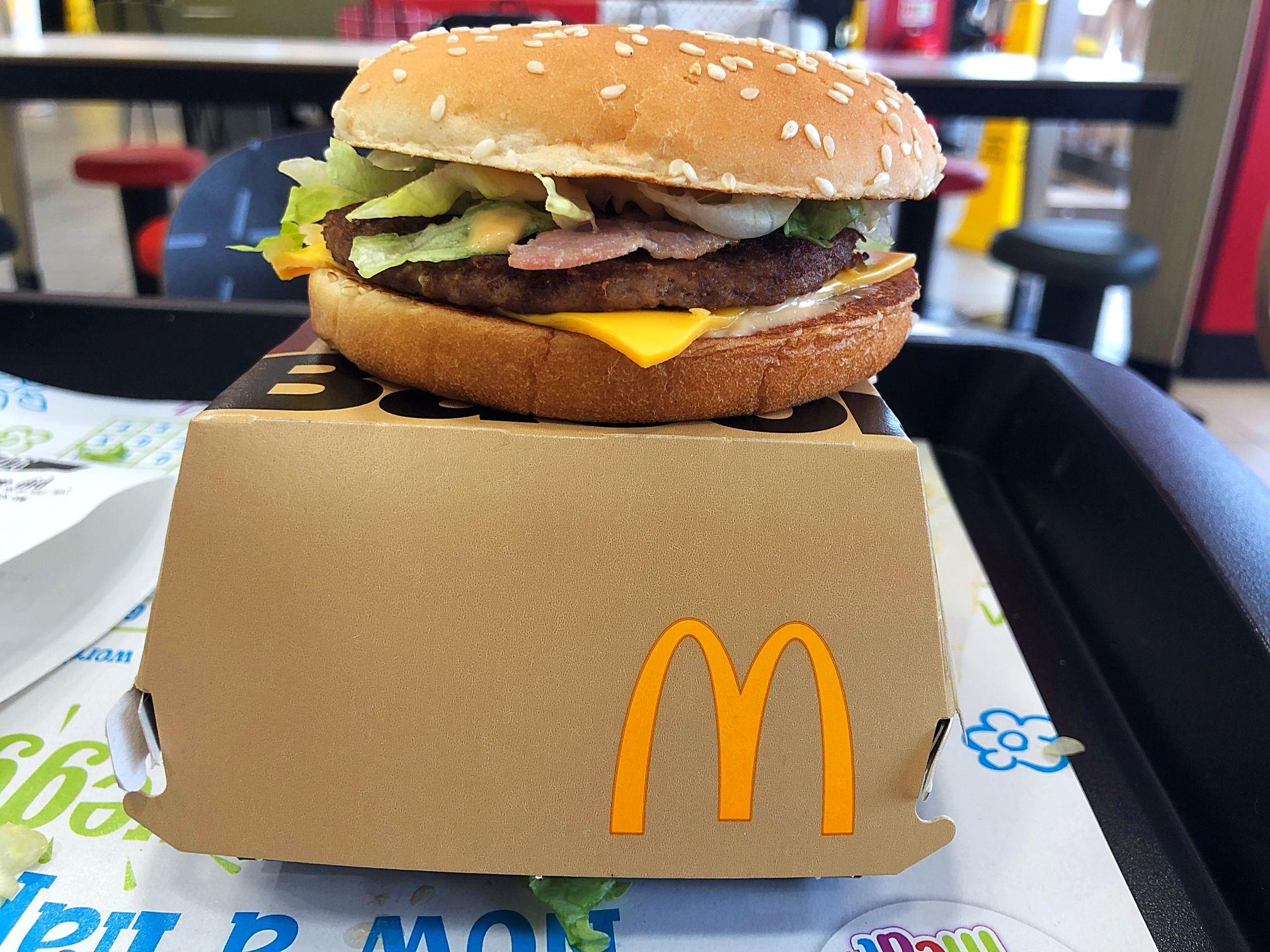 McDonald's Mac Jr. Bacon