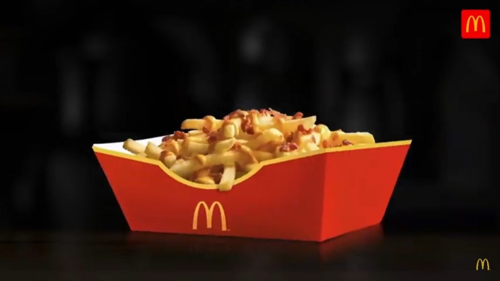 Bacon & Cheese Loaded Fries - McDonald's Cyprus