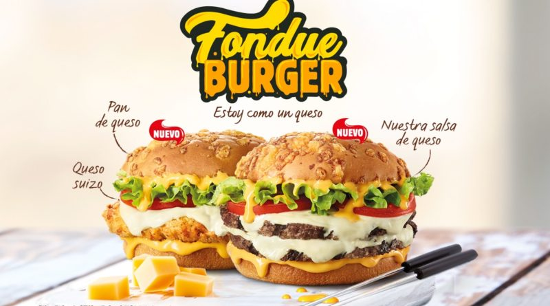 Burger King Spain Fondue Burger