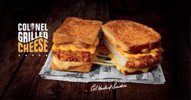 KFC Colonel Grilled Cheese