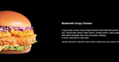McDonald's Buttermilk Crispy Chicken