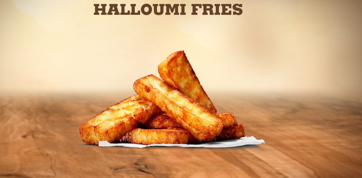 Burger King Halloumi Fries
