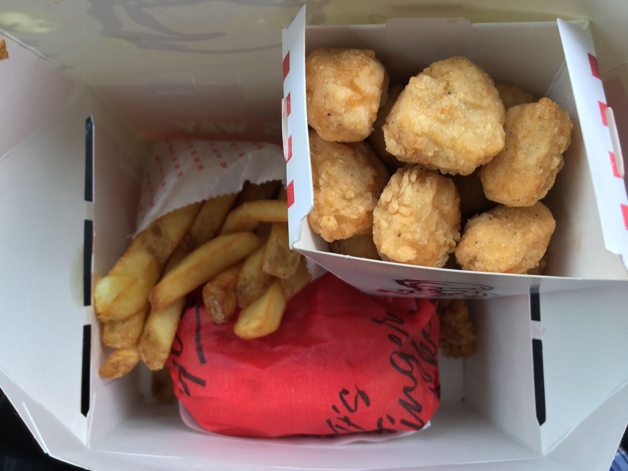 KFC £1.99 Lunch