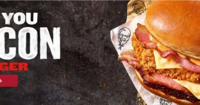 KFC I Love You Bacon Burger