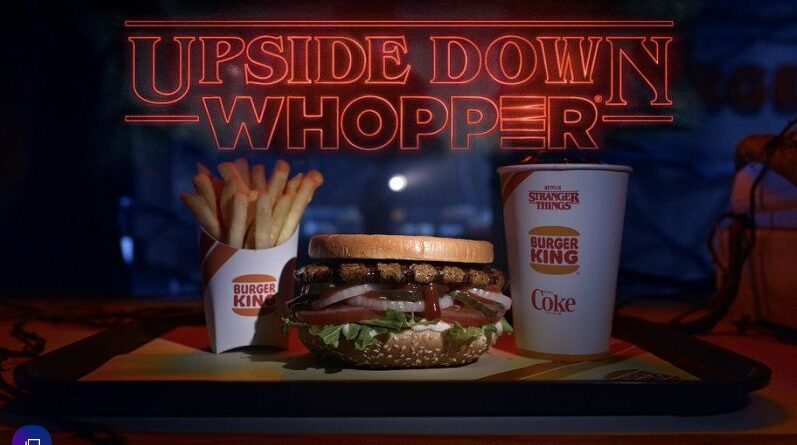 Upside Down Whopper