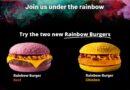 McDonald's Rainbow Burgers